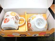 陶器マグカップ&茶碗セット|アンパンマン