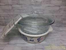 未使用 超耐熱ガラス両手鍋|IWAKI