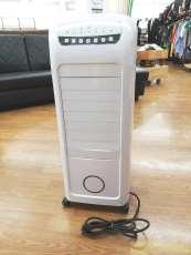 加湿機能付き温冷風扇 ヒート&クール ホワイト|スリーアップ