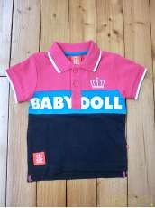 未使用 切替ポロシャツ(タグ付き)|BABY DOLL