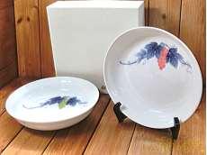 深皿2枚|香蘭社