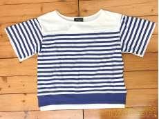 未使用 レースボーダーTシャツ(タグ付き)|COMME CA ISM