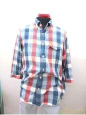 七分袖チェックシャツ|AIGLE