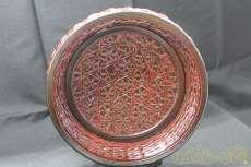 スカシの浅鉢|籃胎漆器