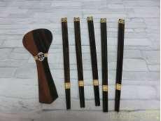 箸セット|黒檀