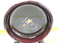 溜塗 菓子鉢|会津漆器