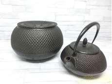 未使用 急須&茶こぼし|南部鉄器
