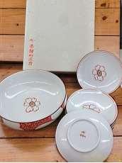 深皿・小皿5枚セット|香蘭社