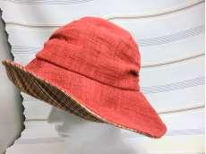 レディース絣帽子|儀右ェ門