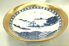 染付絵皿|其泉