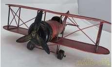 ブリキ 飛行機(赤)|その他ブランド