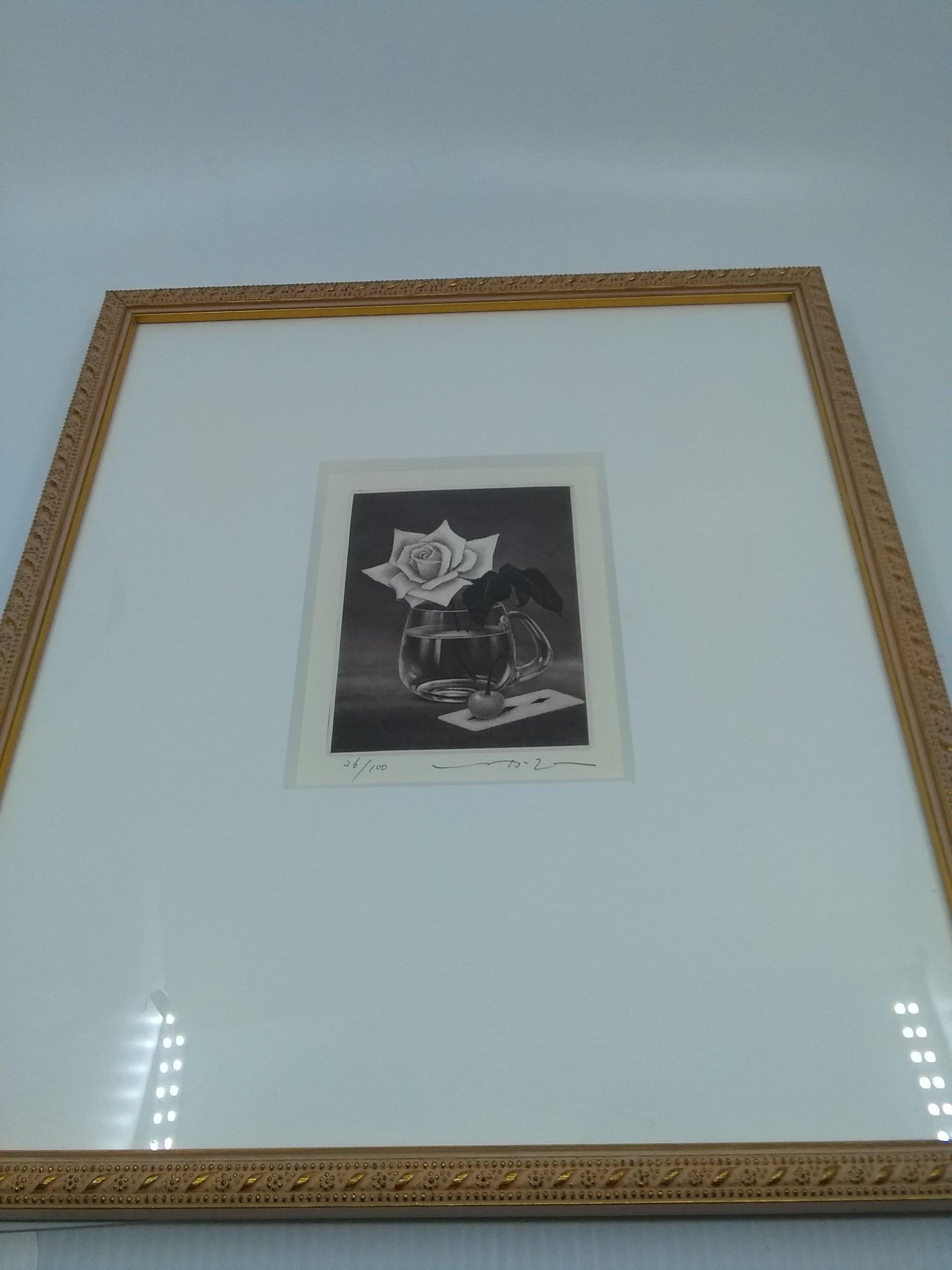 バラの静物 名古屋画廊