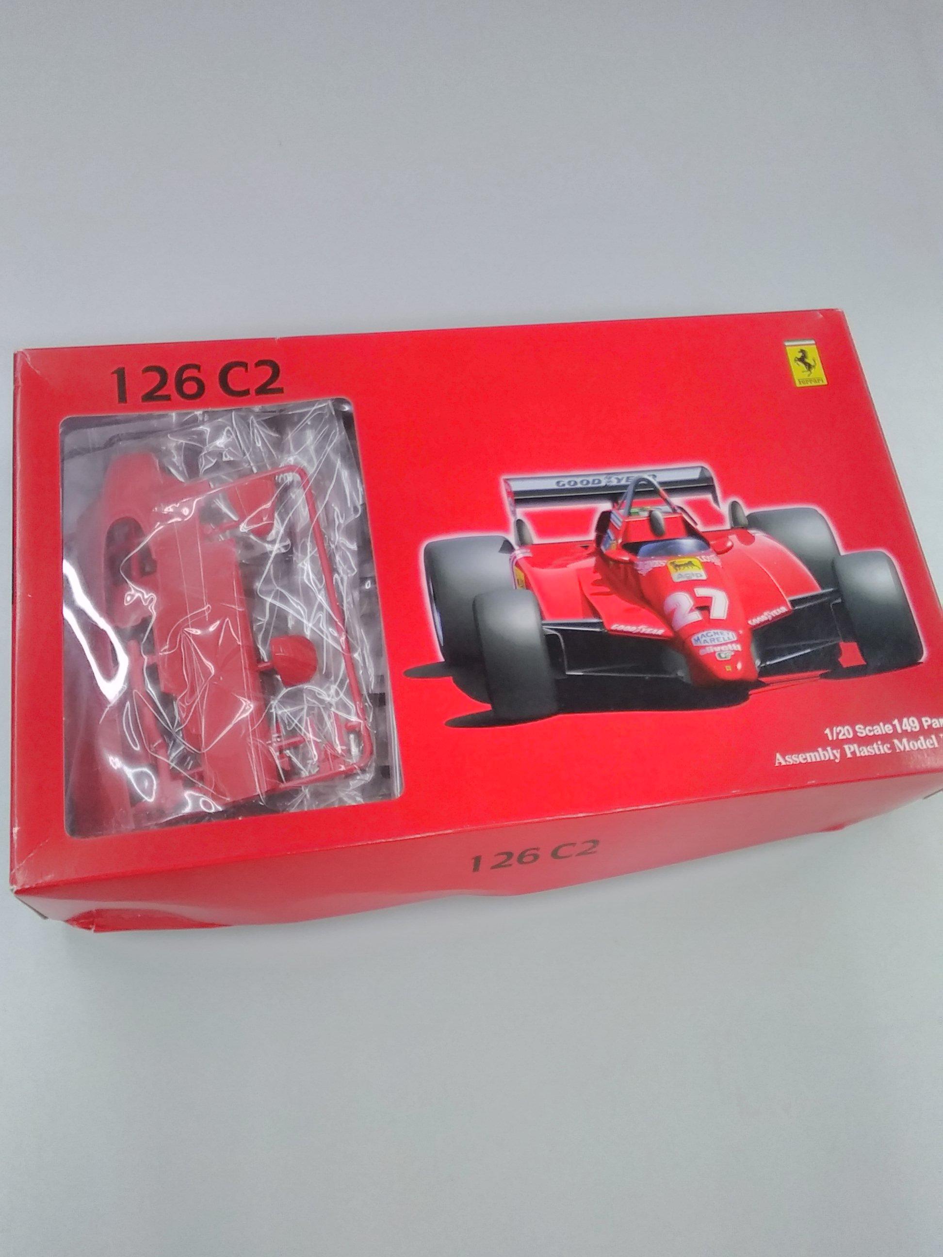 フェラーリ126C2|フジミ