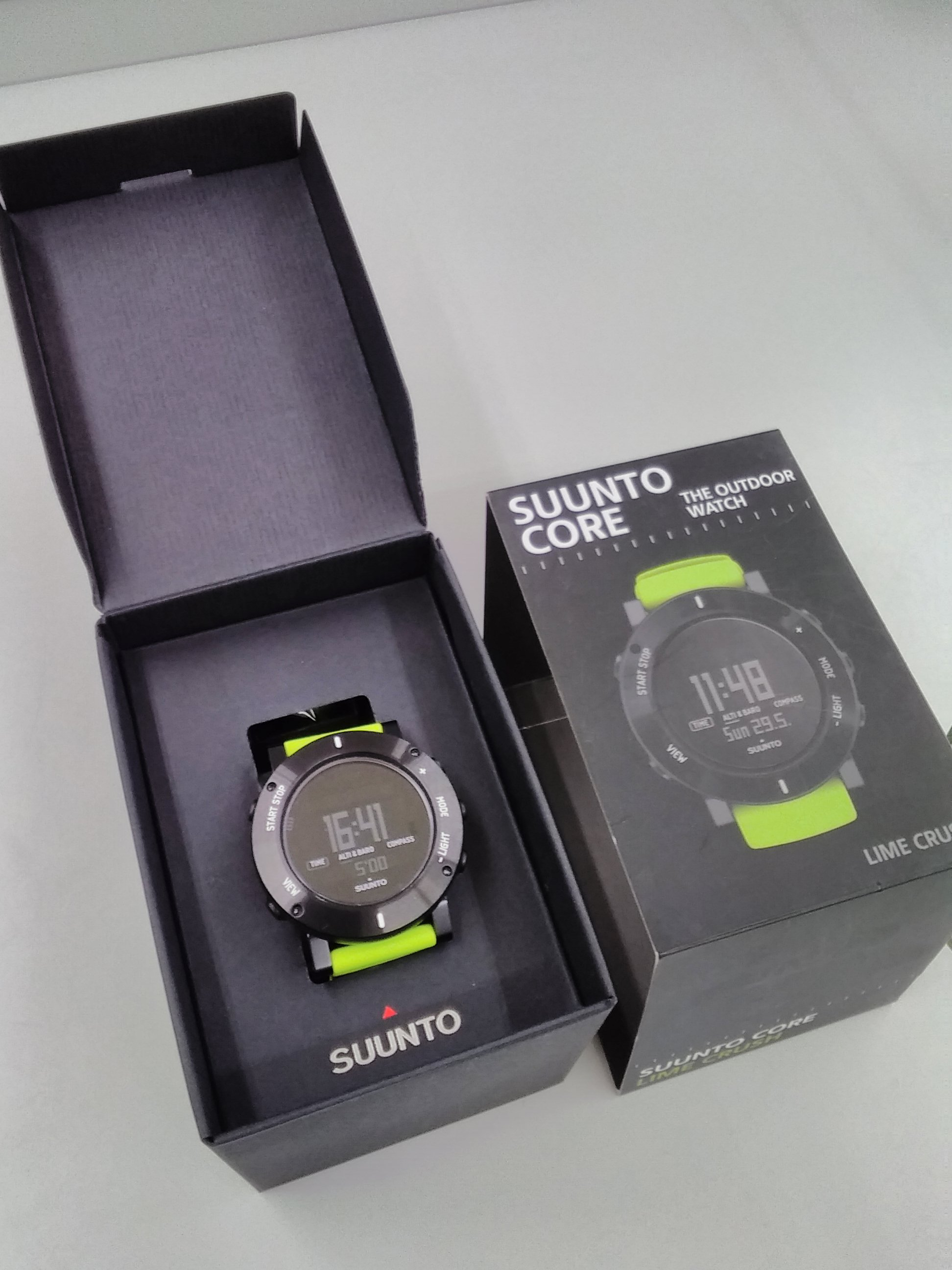 SUUNTO CORE LIME CRUSH|SUUNTO