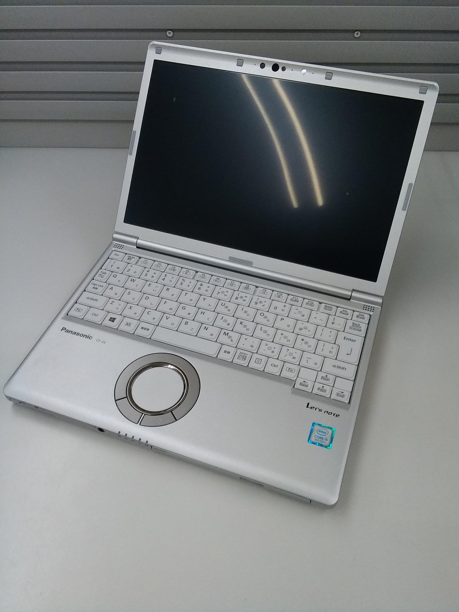 レッツノートCORE I5 8250U 1.60GHZ|PANASONIC
