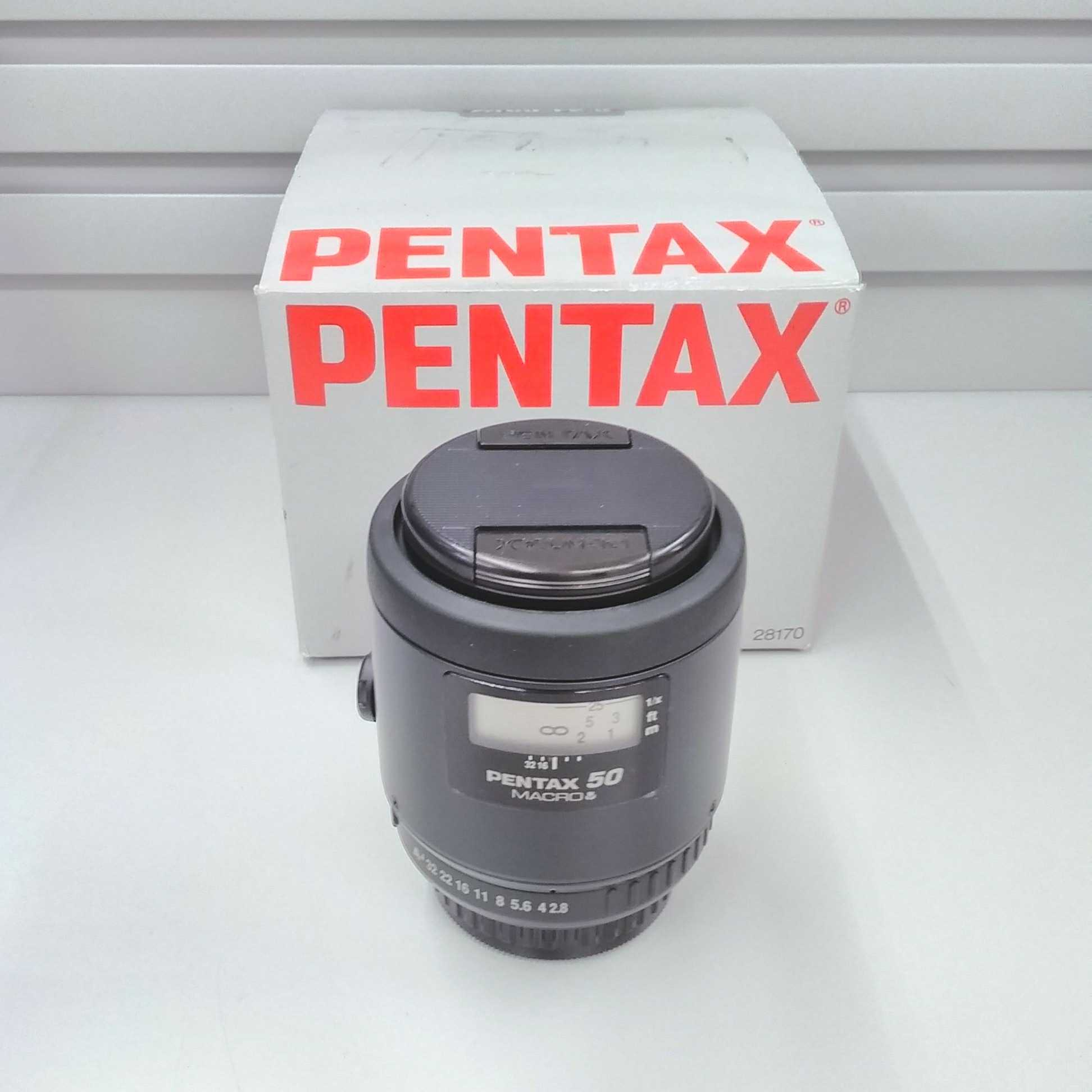 Kマウントレンズ SMC FA MACRO50mmF2.8 PENTAX