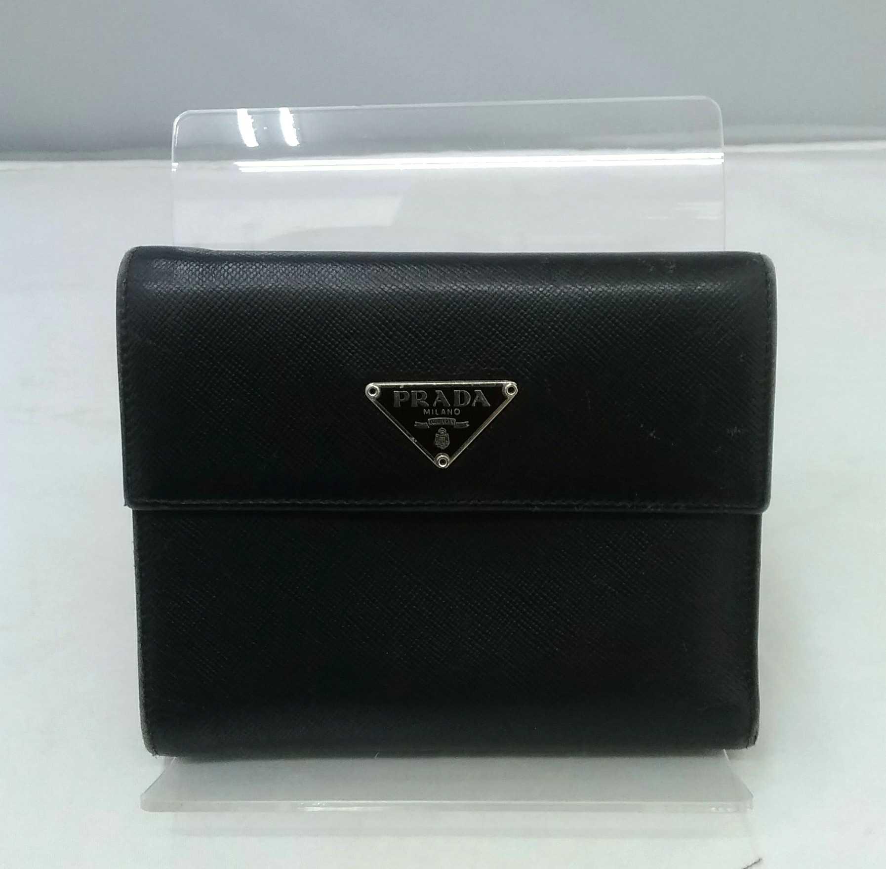 サフィアーノ3つ折り財布|PRADA