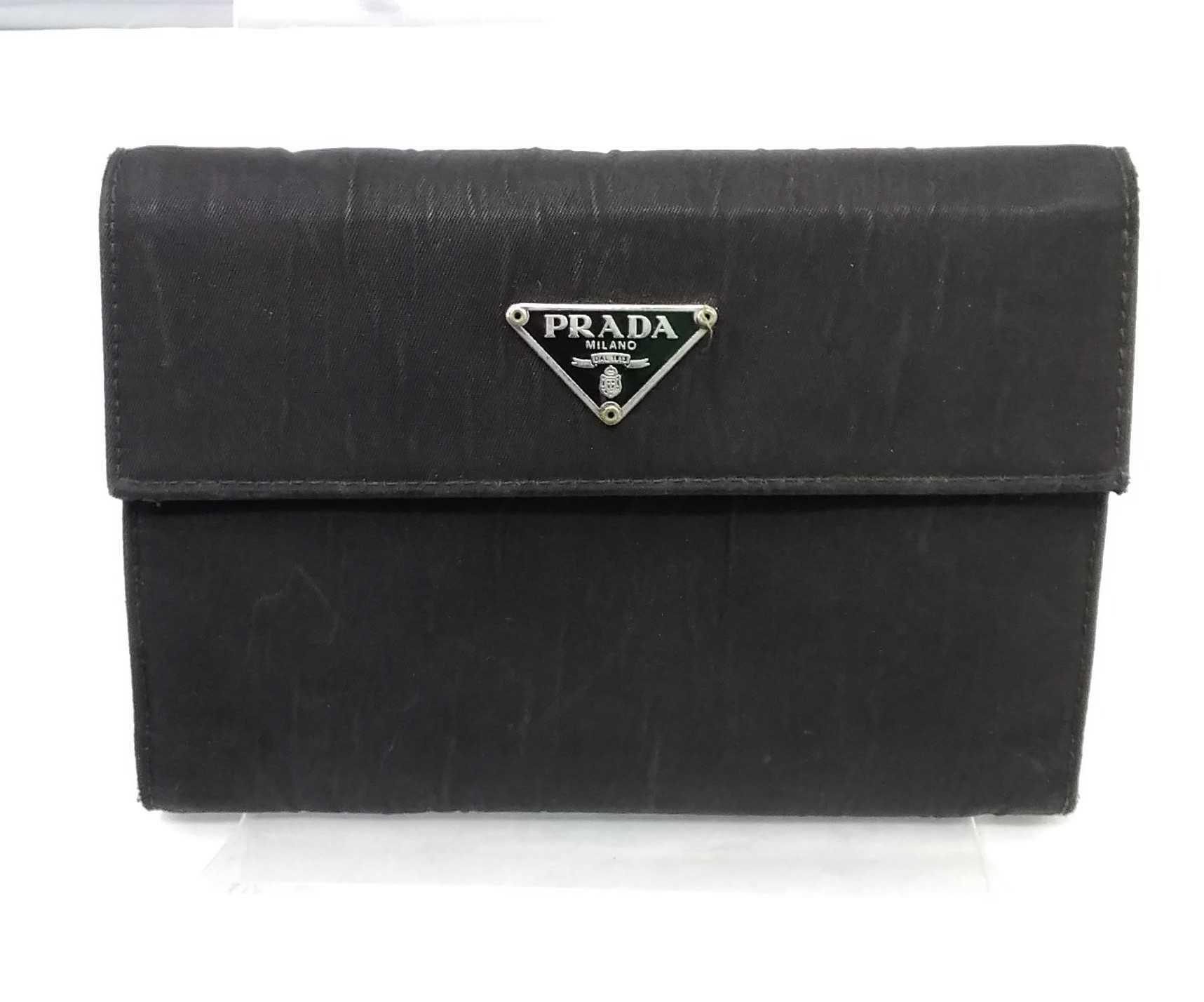3つ折り財布|PRADA