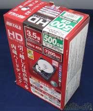 【未使用品】HDD3.5インチ-500GB|BUFFALO