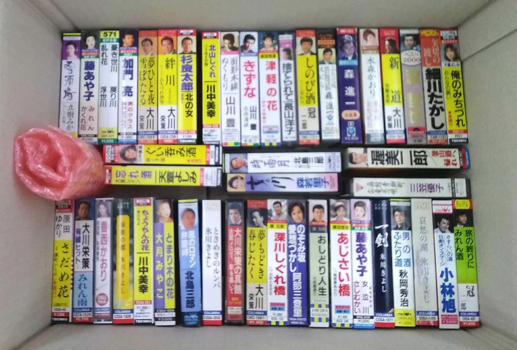 カセットテープソフト 色々