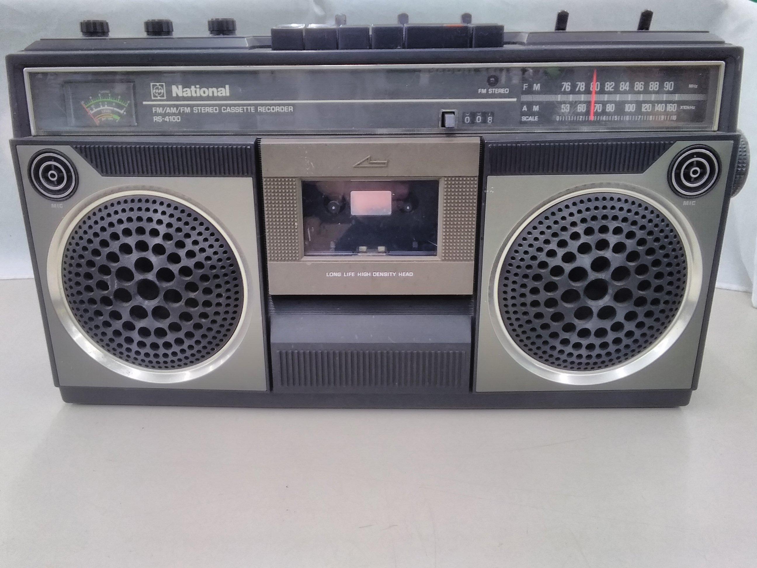 ステレオカセットレコーダー|NATIONAL