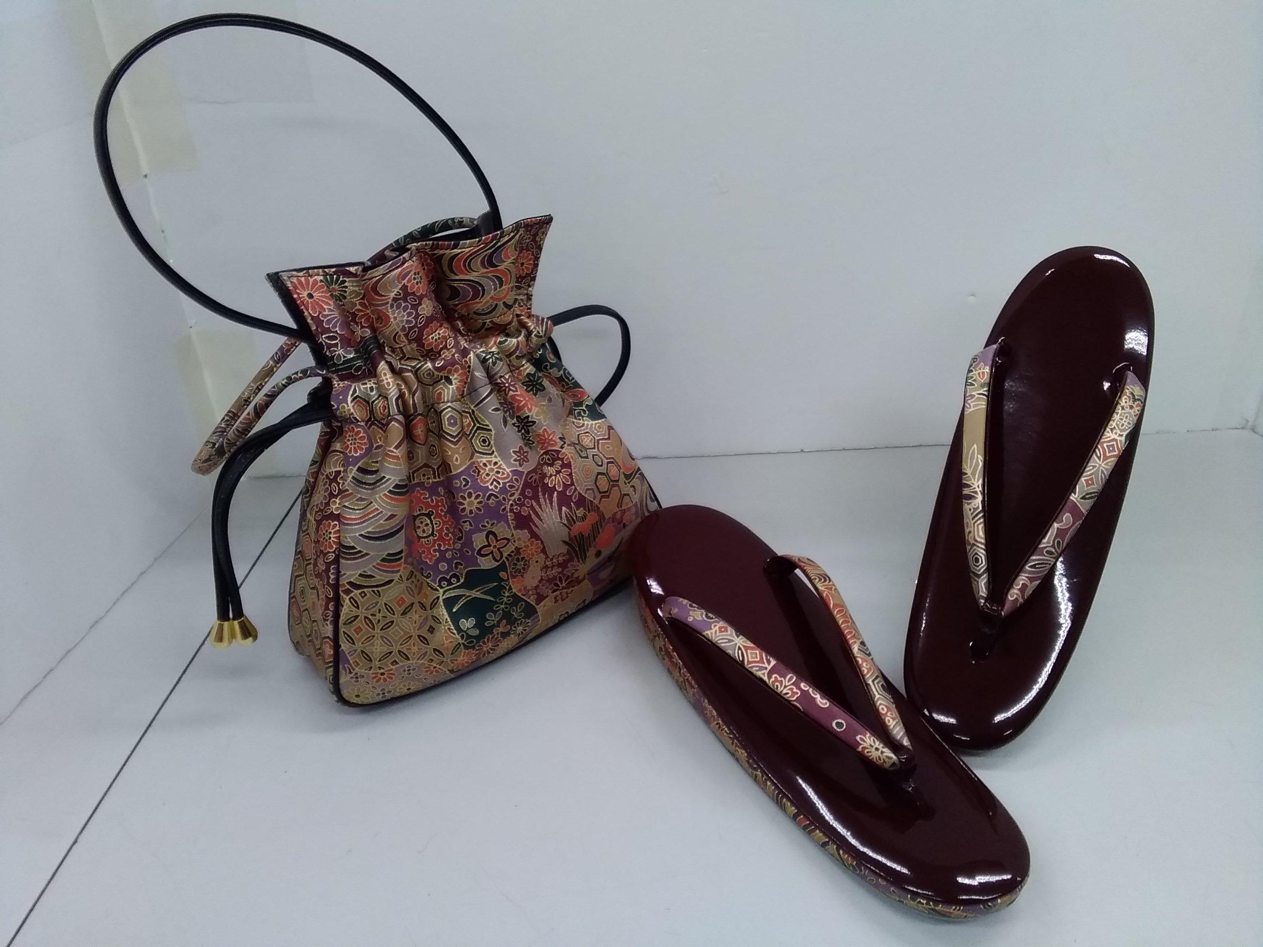 キンワシ印|草履、バッグ