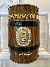 樽型空き缶 SUNTORY