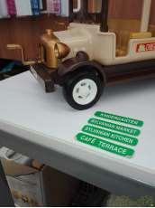 目的地カード エンジンレバー