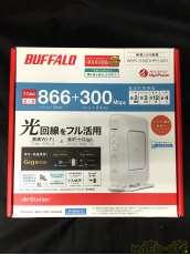 ①未開封 バッファロー 11ac 2×2対応Wi-Fiルーター エアステーション|BUFFALO