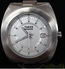 クォーツ・アナログ腕時計|TAKEOKIKUCHI