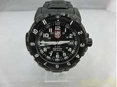 NIGHT HAWK  ブラック腕時計