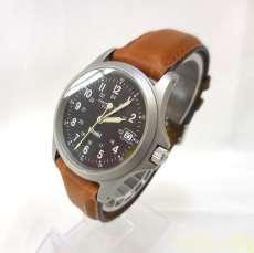 ハミルトン 腕時計 カーキ クォーツ ブラック 9821c|HAMILTON