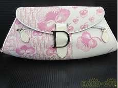 チェーンショルダーバッグ トロッター×フラワー ピンク