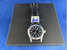 ハミルトン 自動巻き腕時計 カーキフィールド  バックスケルトン