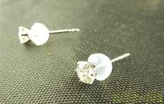 天然ダイヤモンド付きピアス|ダイヤモンド
