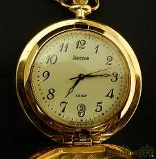 クォーツ式懐中時計