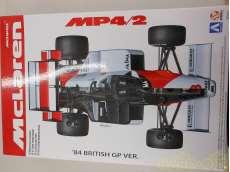 プラモデル 1/20 マクラーレン MP4/2 84年イギリスグランプリ仕様|AOSHIMA