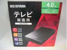 未使用!外付けHDD 4.0TB!テレビ用|IRIS OHYAMA