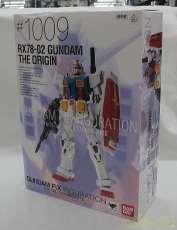 RX78-02 GUNDAM THE ORIGIN  ガンダ BANDAI