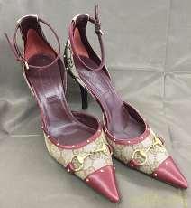 グッチ ストラップパンプス 靴|GUCCI