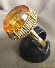 リング K18 金 宝飾品 貴金属|宝石付きリング