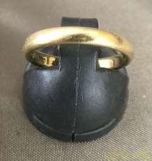 リング K18 金 宝飾品 貴金属|宝石無しリング
