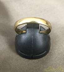 リング 指輪 K18 金 宝飾品 貴金属|宝石無しリング