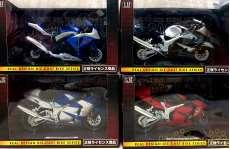 未使用 リアルデザインダイキャストバイクシリーズ 4台セット|YSN