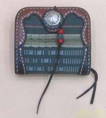 二つ折り財布|琉球レザー