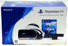 PlayStation VR + PlayStation VR WORLDS同梱版|SONY