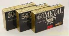 メタルテープ6本セット SONY