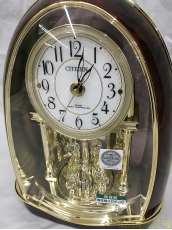 電波メロディ置き時計|CITIZEN