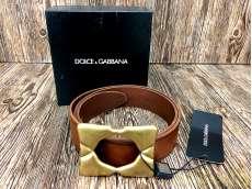 DOLCE&GABBANA レザーベルト|DOLCE&GABBANA