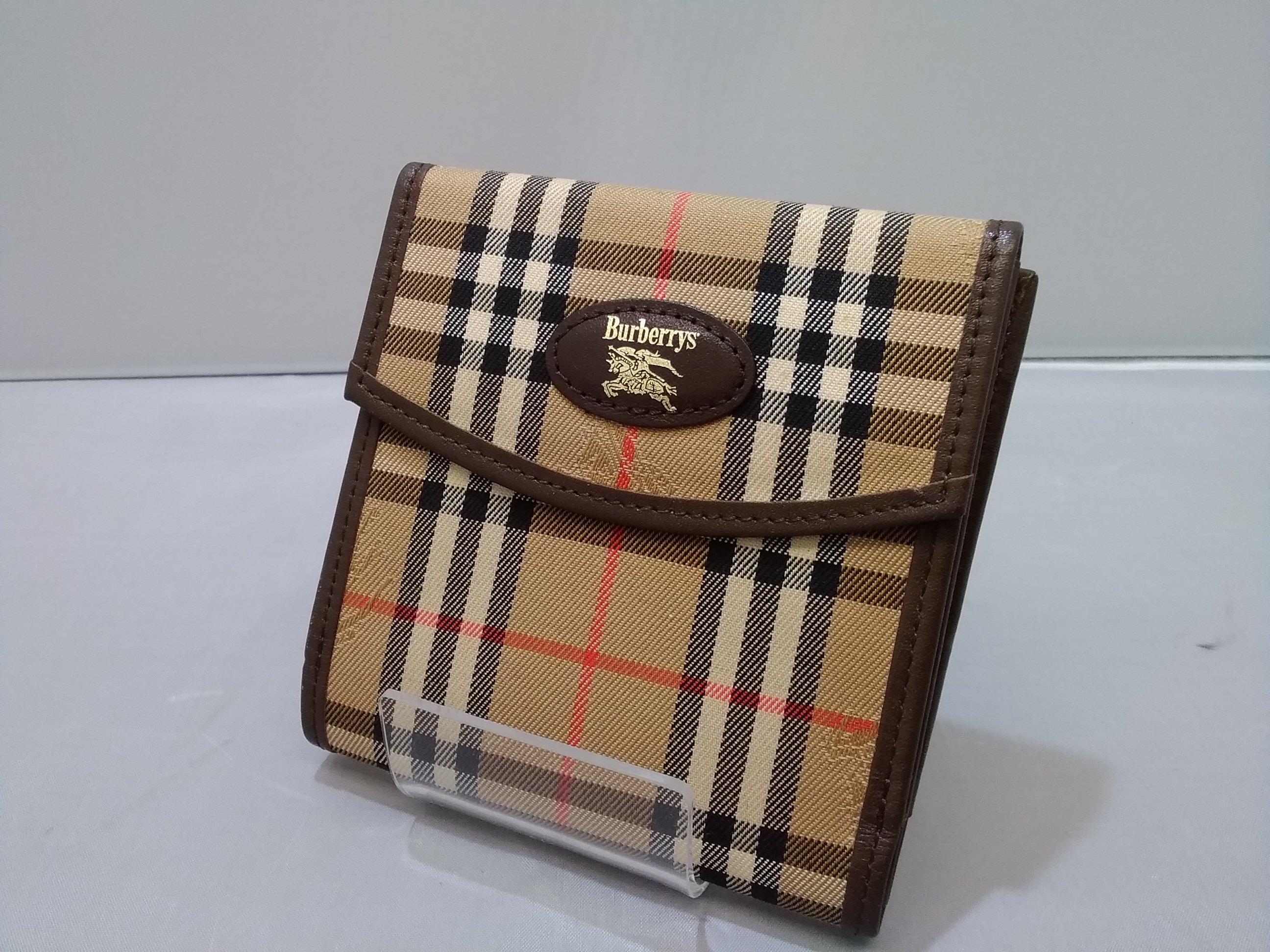 二つ折り財布|BURBERRYS